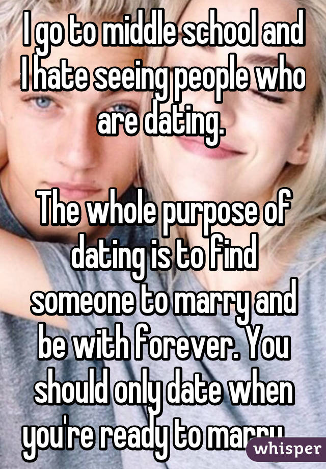 When do you go from seeing to dating