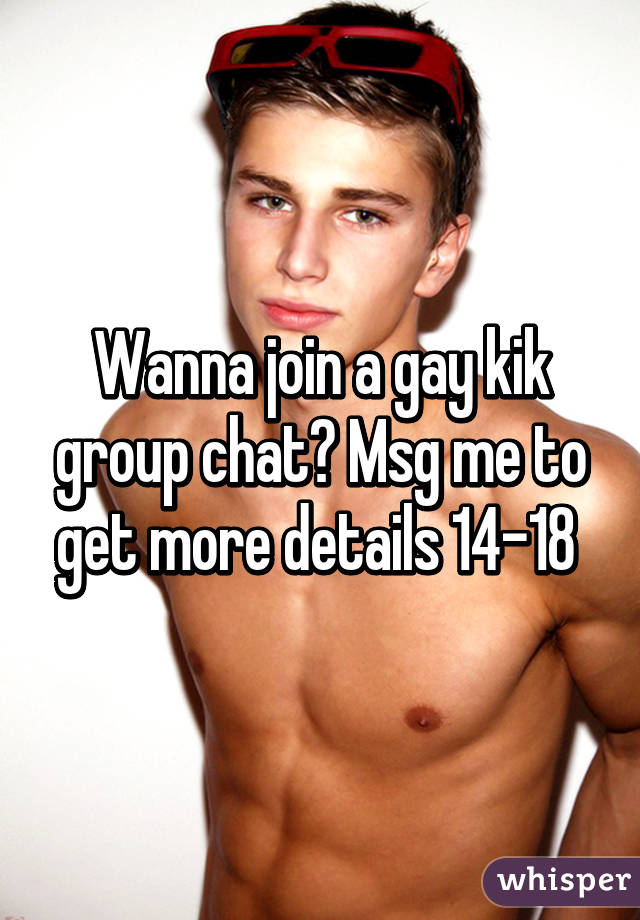 Gay kik chat
