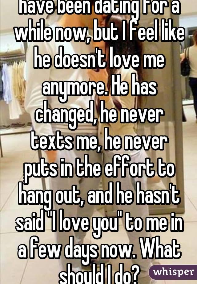 I T He Love Said You Hasn