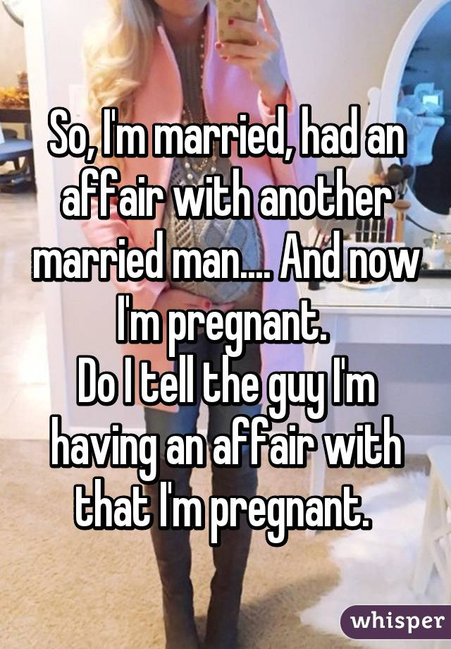 Man i m married