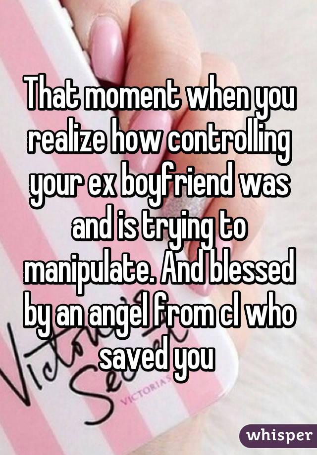 controlling ex boyfriend