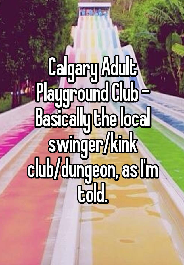 calgary adult swingers clubs