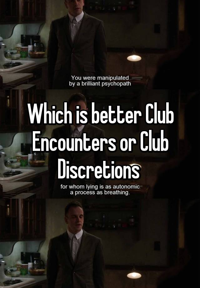 Club discretions phoenix