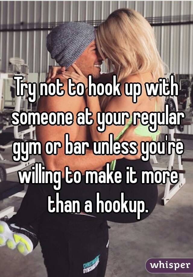 is it more than a hookup