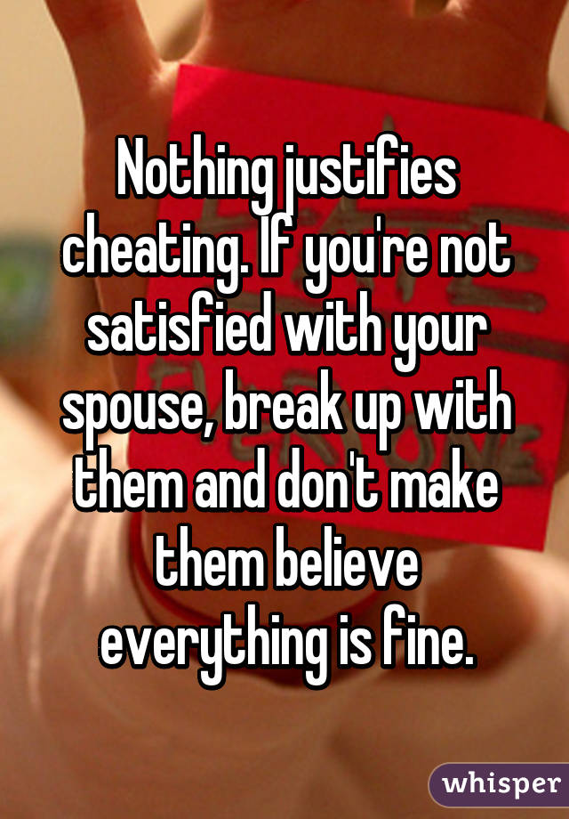 your wife is cheating on you