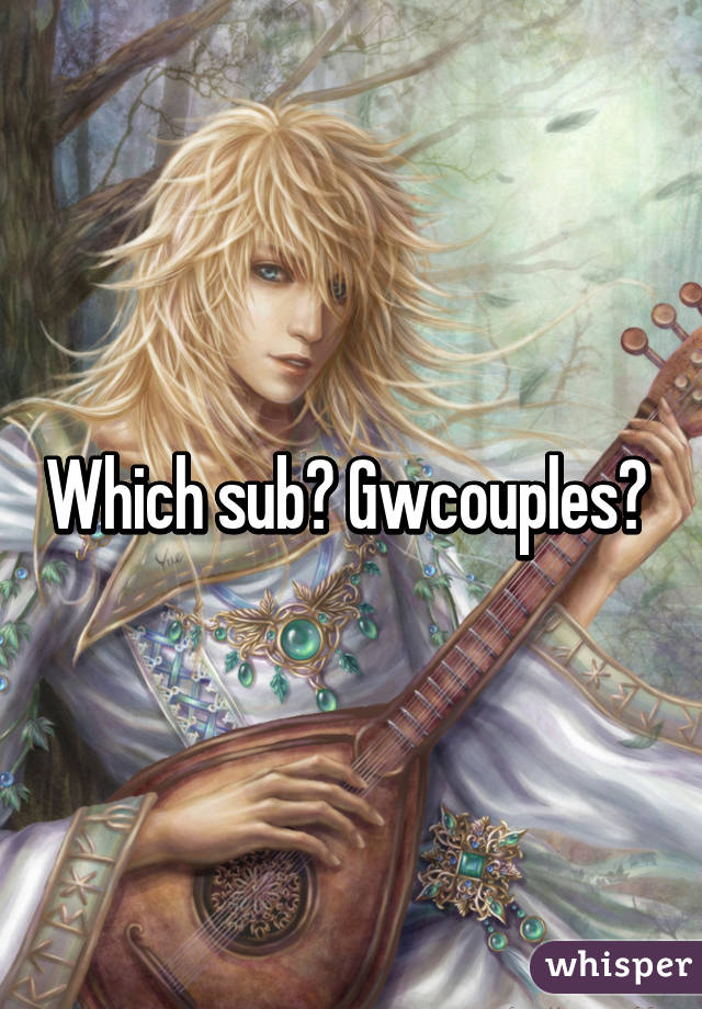 which sub gwcouples
