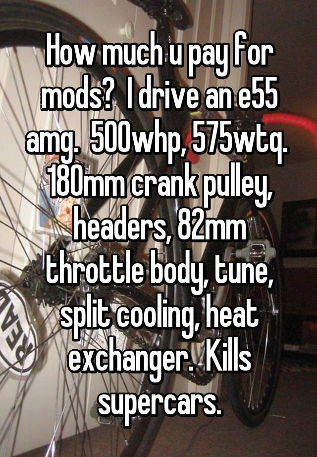 E55 Split Cooling
