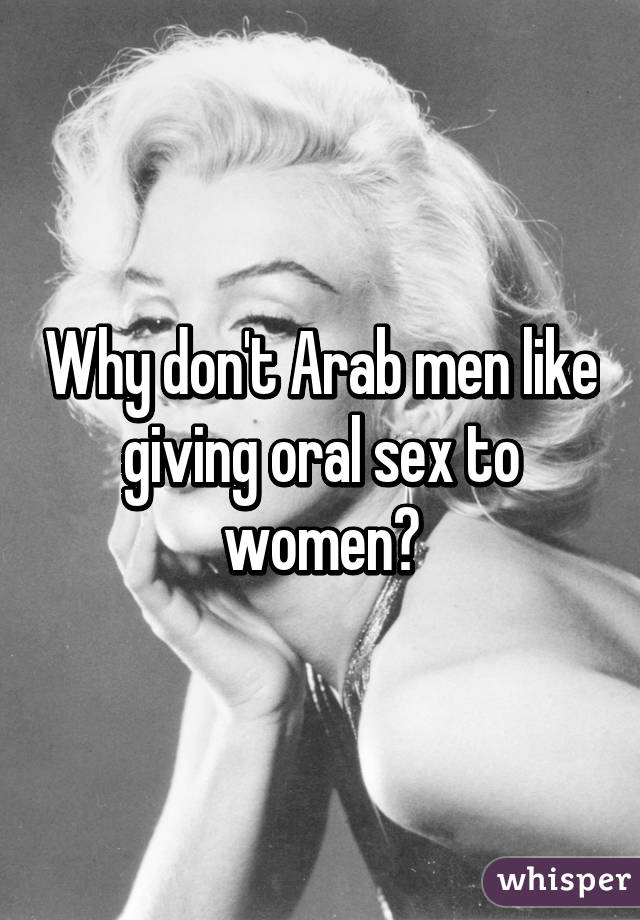 Arab women givin oral sex