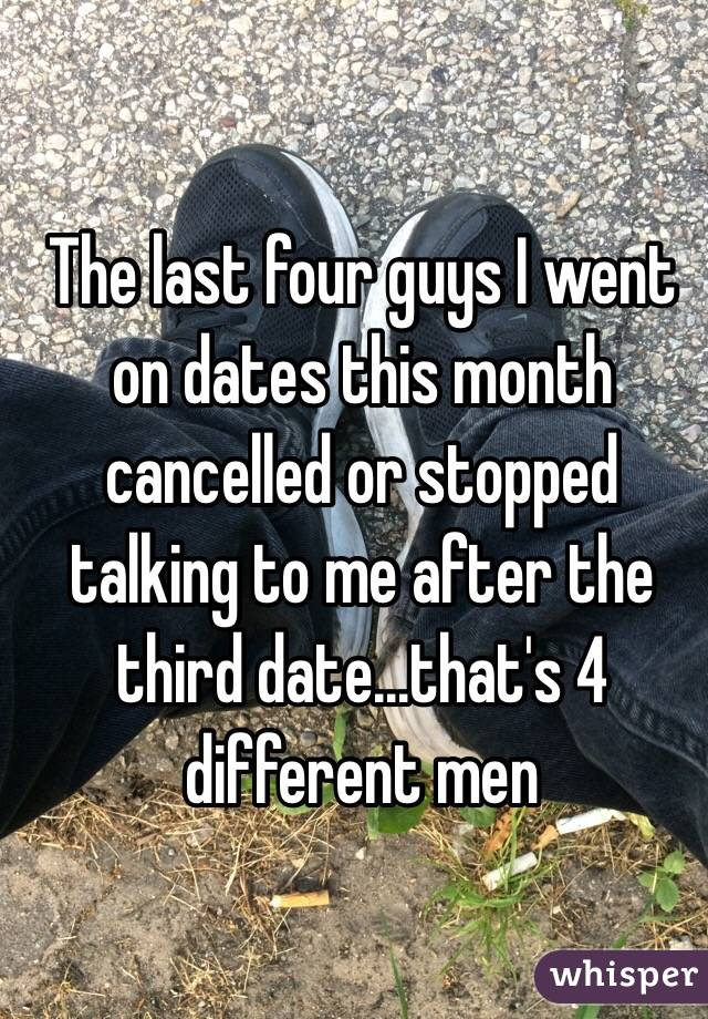 Stopped dating after 3 months