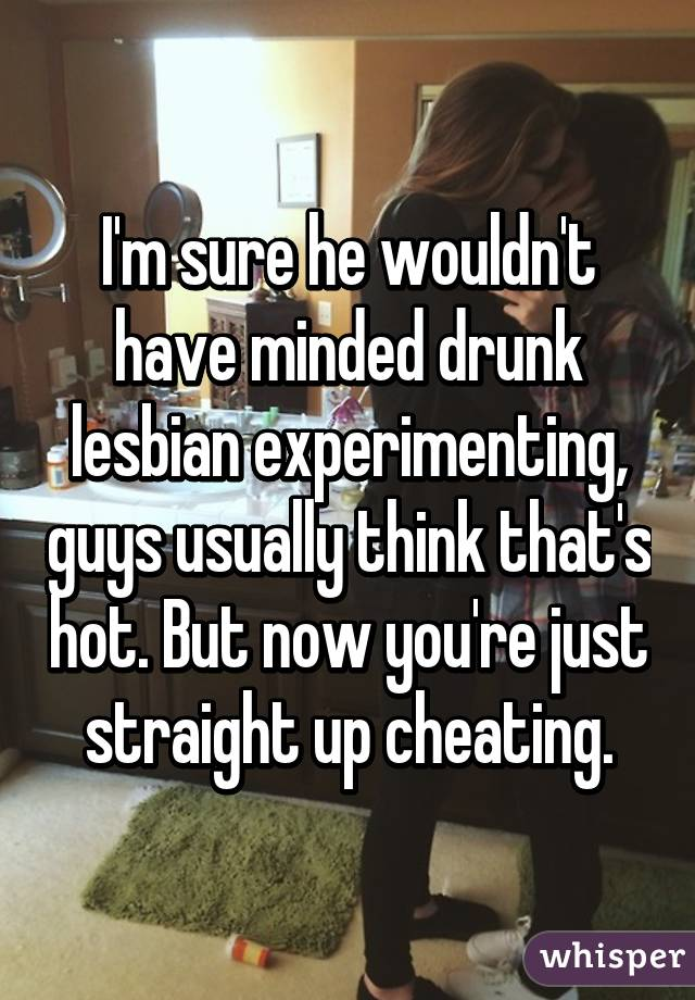 Lesbian or experimenting hurts after