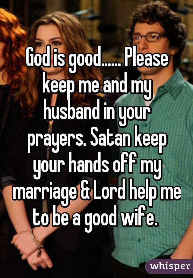 God help me with my marriage