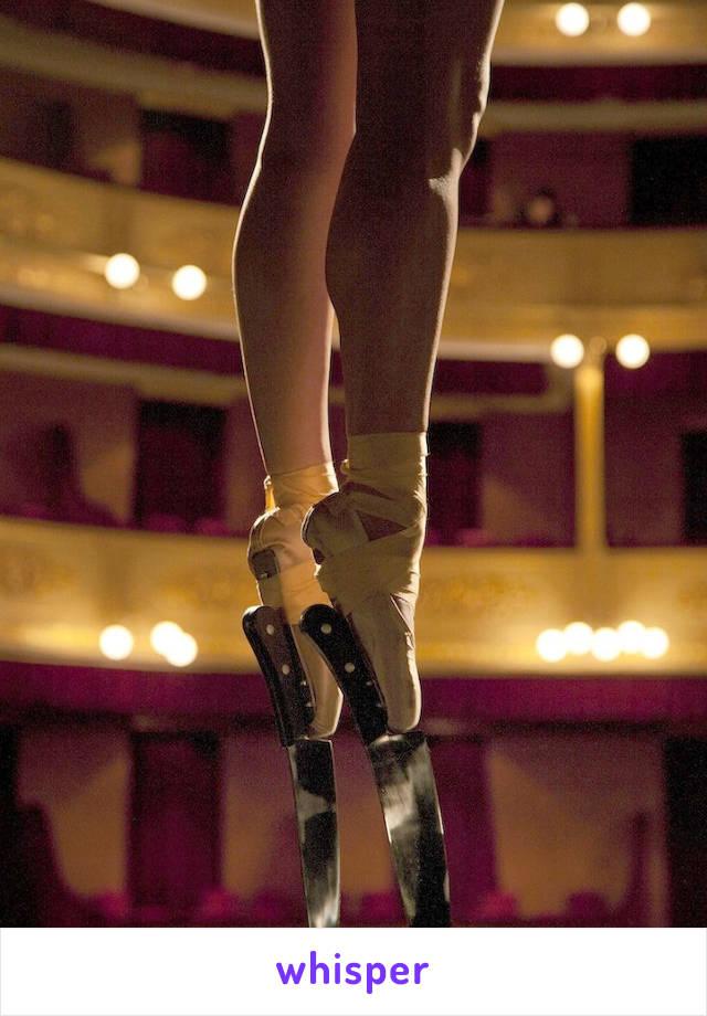 I'm a ballet dancer but my favourite music genre is death/ heavy metal