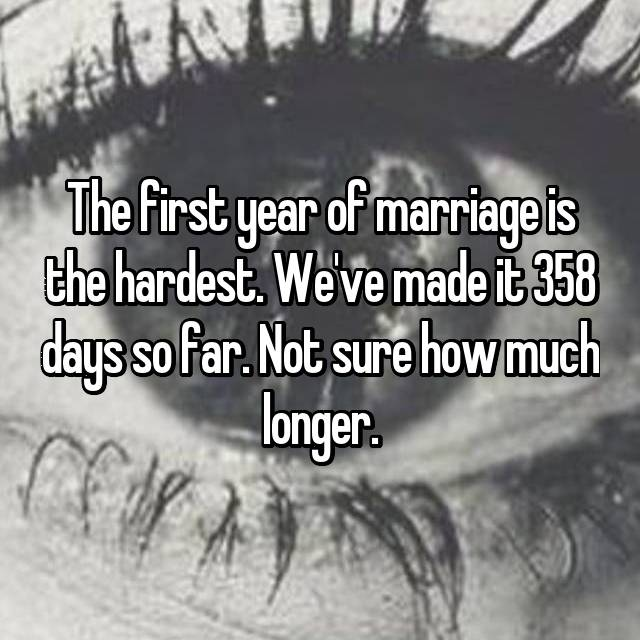 First Year Of Marriage: 15 Brutally Honest Confessions About The First Year Of