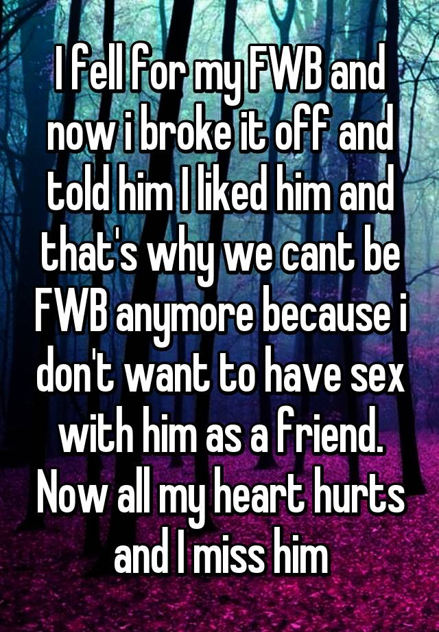 vil FWB FWB ikke længere. være