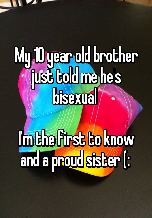 Bisexual brother and sister