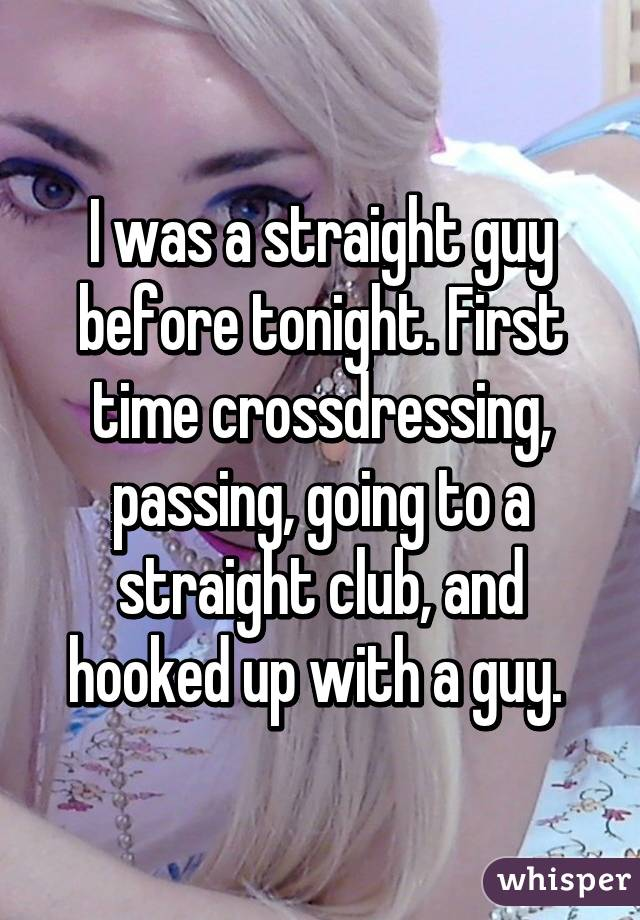 Crossdresser And Straight Guy