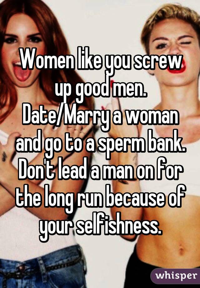 Know Sperm good for women