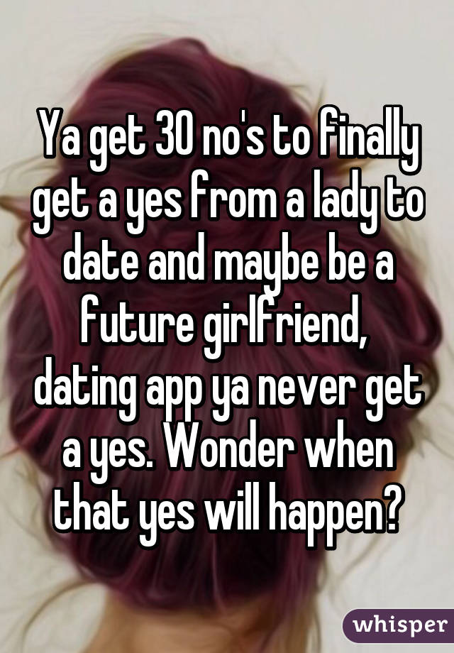 Yes no maybe dating apps