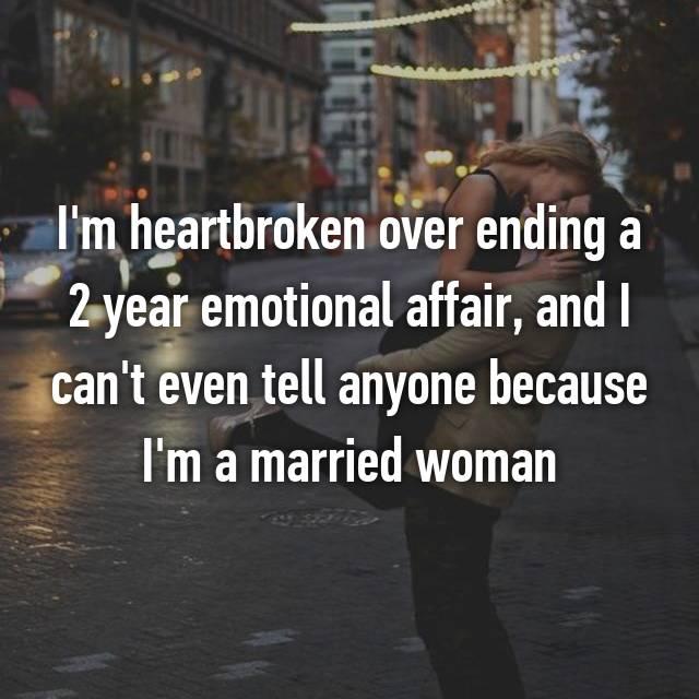 Woman emotional affair
