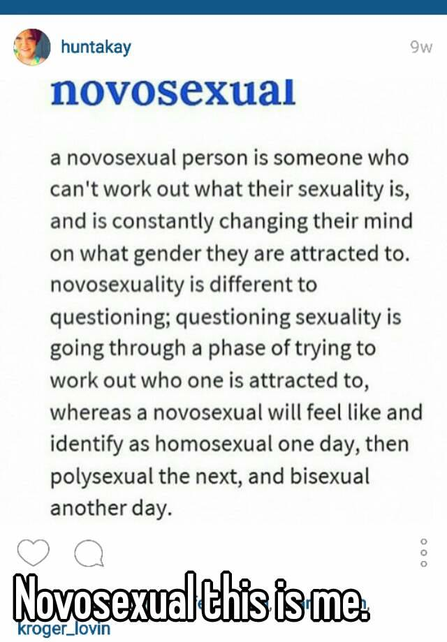 Novosexual