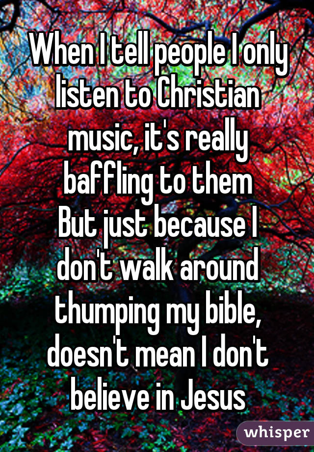 Christian music to listen to
