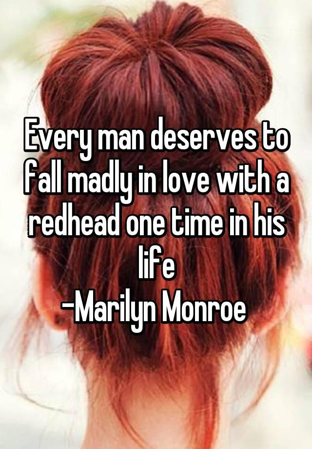 loves A me redhead