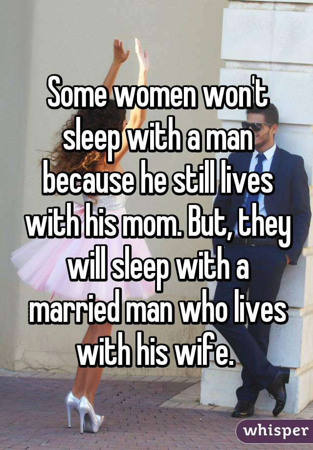 women who sleep with married men