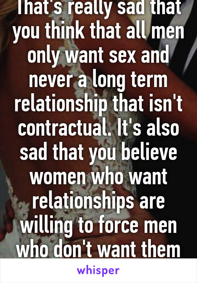 Why men dont want sex