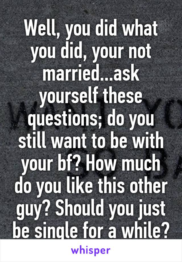 questions to ask about yourself to your boyfriend