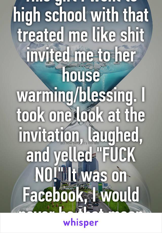 Invitation Fuck Shit