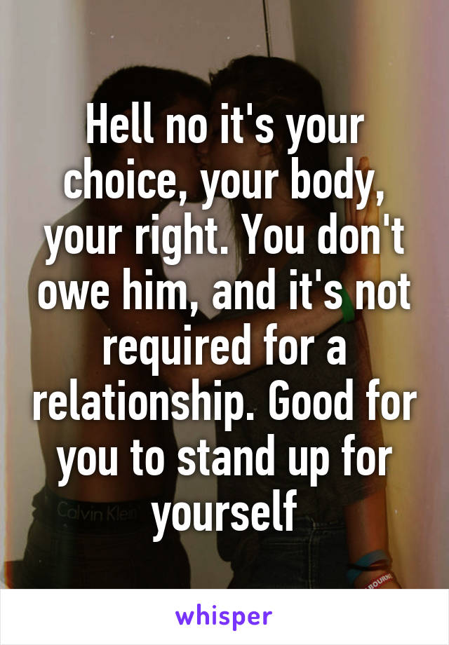 Stand Up For Yourself In A Relationship