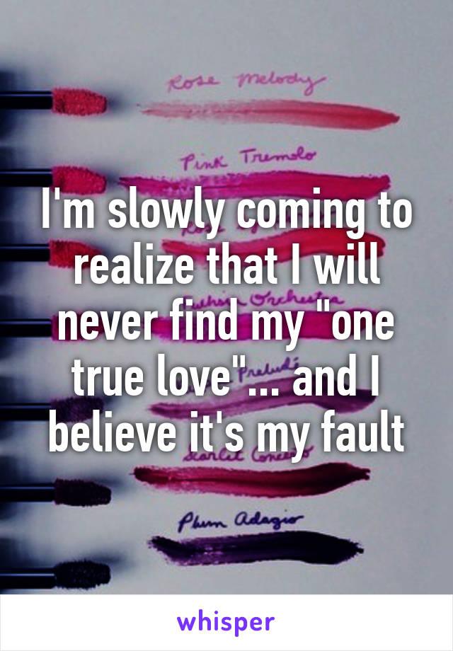 When will i meet my true love