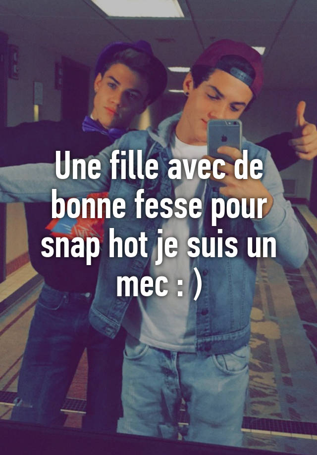 snap fille hot