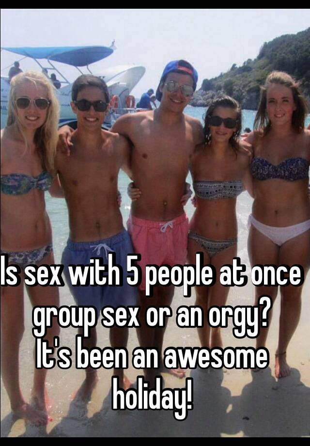 Vacation Group Sex Orgy