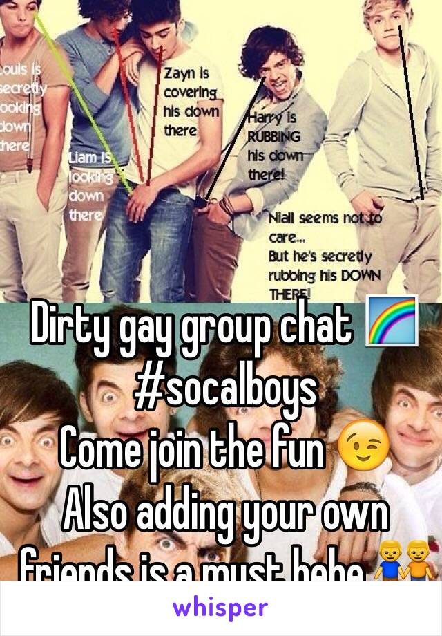 gay dirty chat