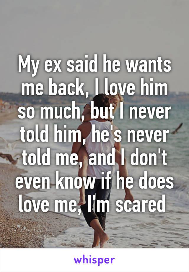 How Do I Know If He Wants Me Back