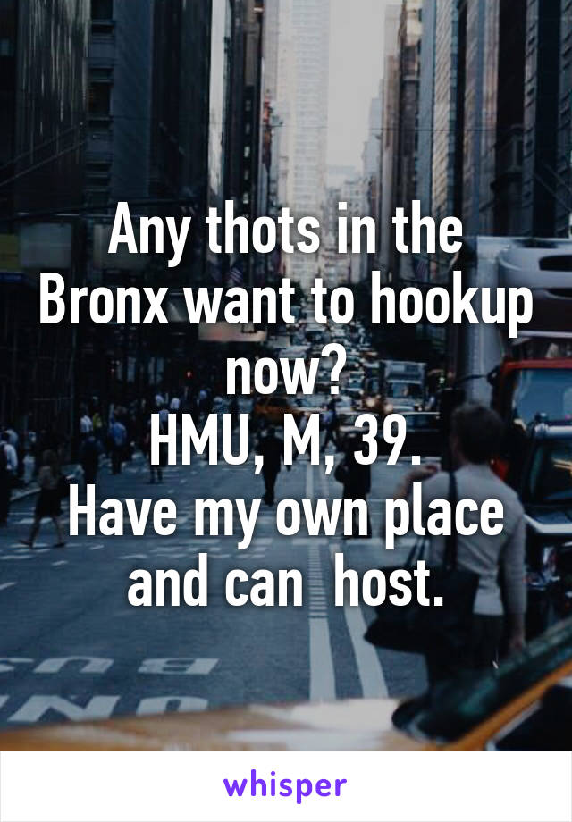 Hook up in the bronx