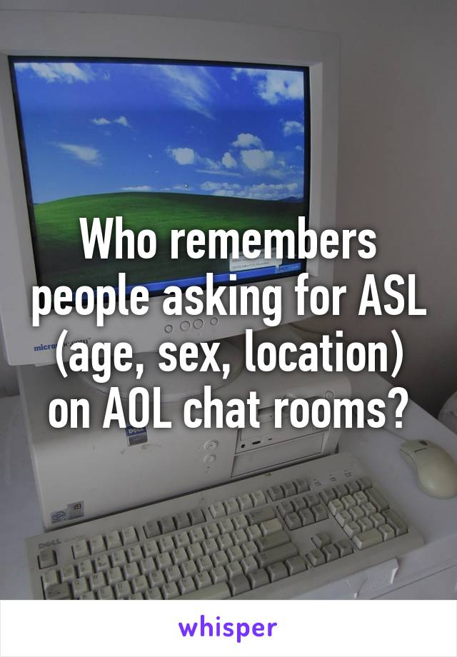 Aol sex chat