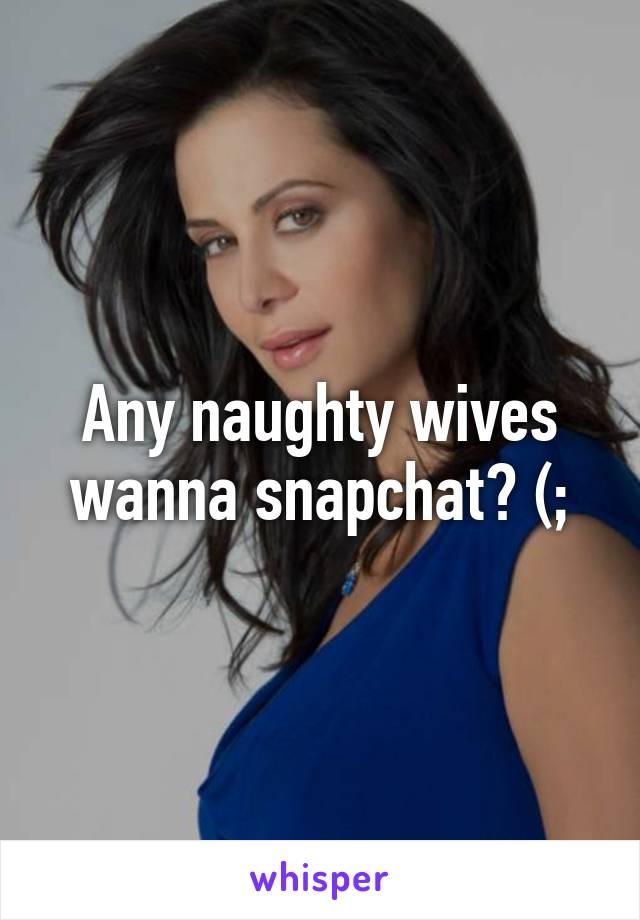 Naughty wives at home
