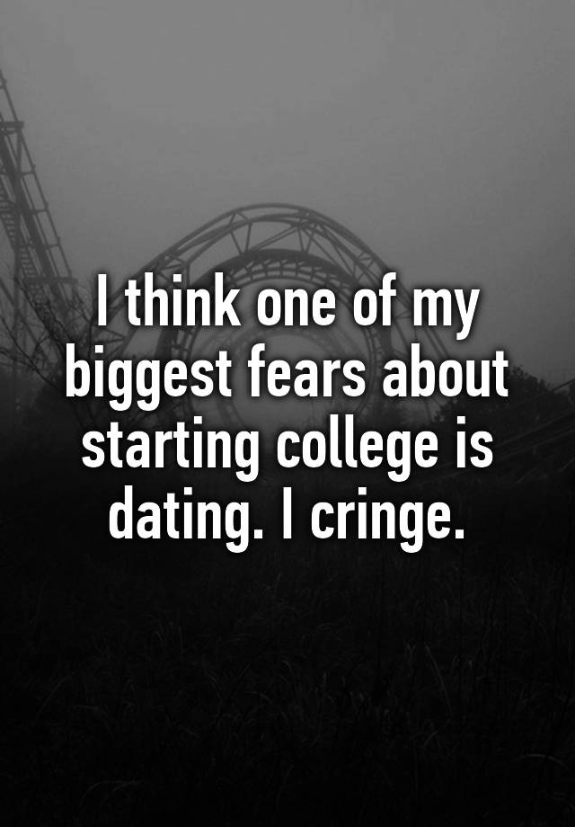 biggest dating fears New york and moscow, oct 1, 2013/ prnewswire/-- with us divorce rates at exceedingly high levels, more single and divorced fathers are heading up.