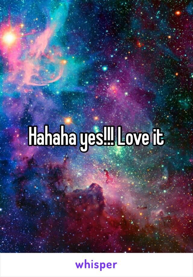 Hahaha yes!!! Love it
