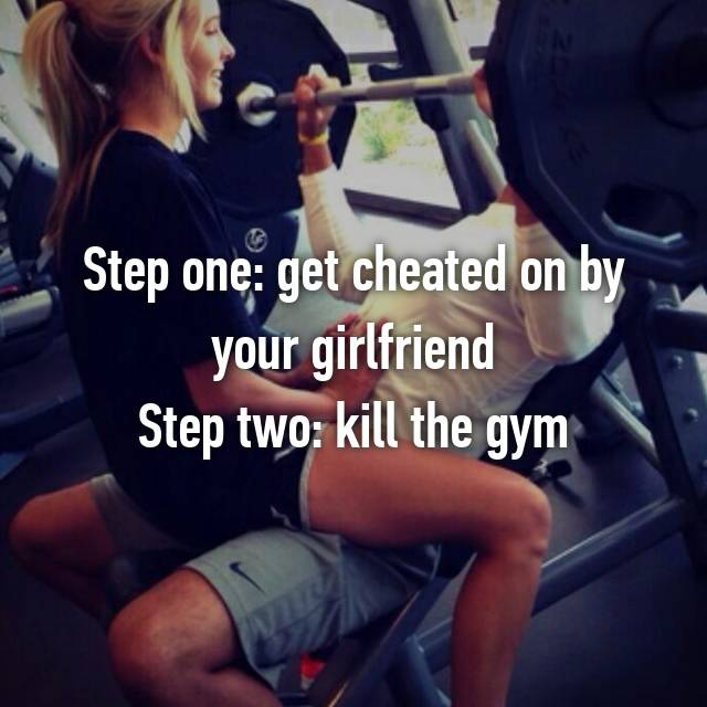 Step one: get cheated on by your girlfriend Step two: kill the gym 💪🏻