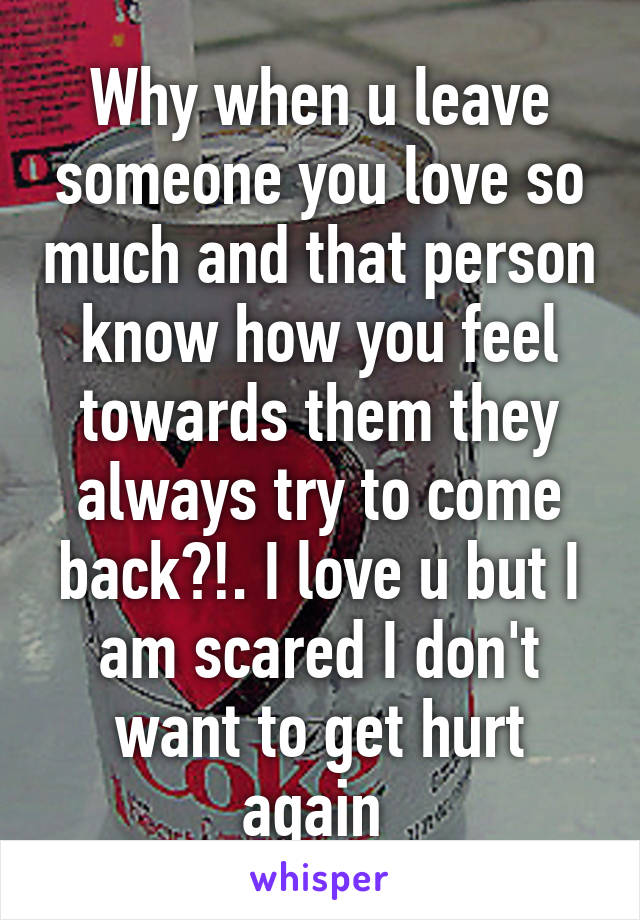 How to leave someone you love without hurting them