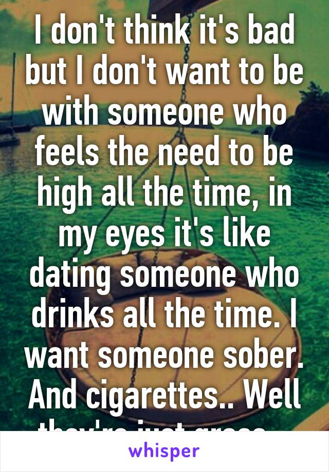 sober dating someone who drinks