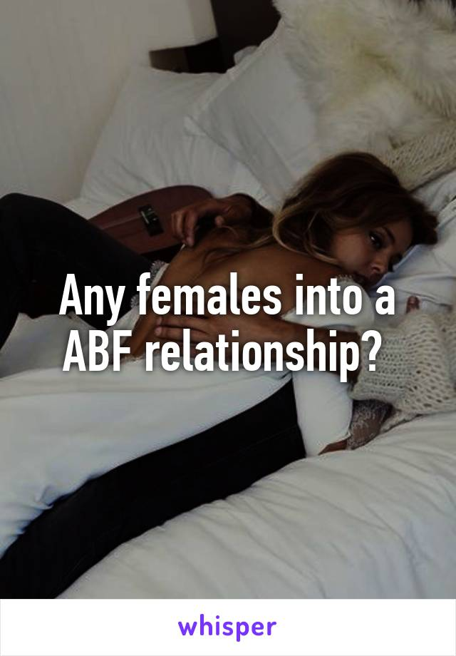 Stories abf relationship Bountiful Fruits:
