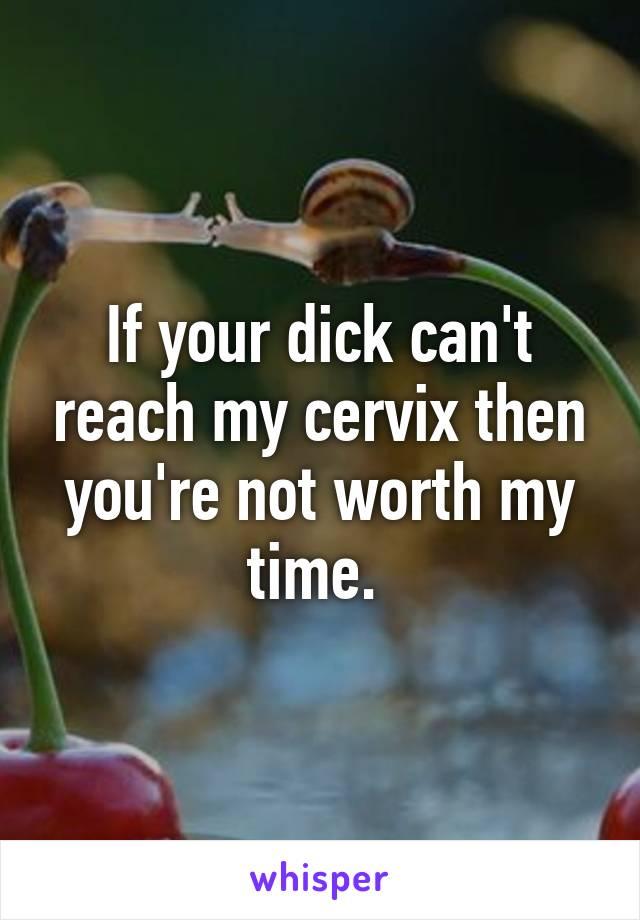 cervix dick