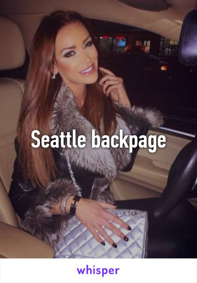 Seatle backpage