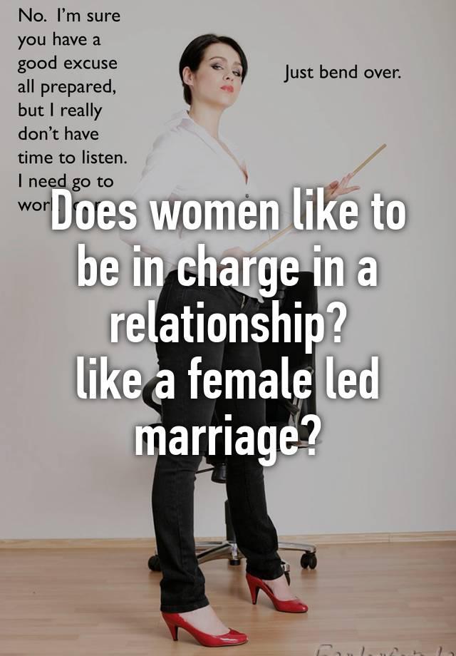 female led relation