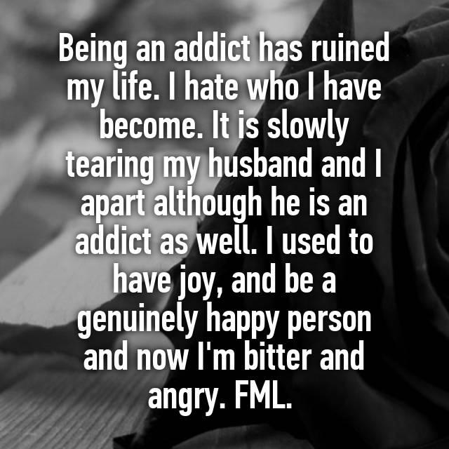 Slowly hating my husband