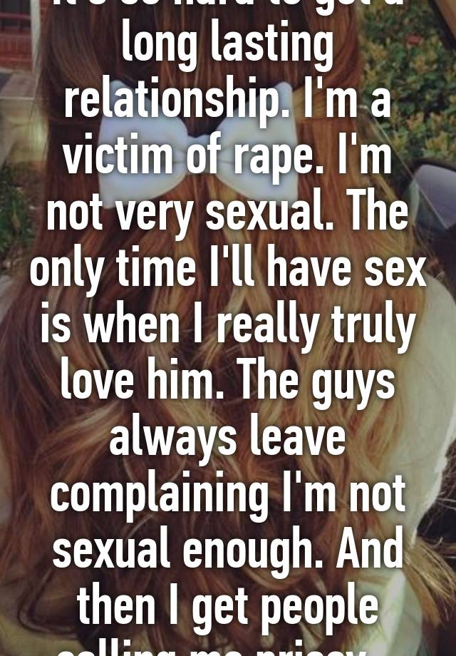 Love Sex And Lasting Relationship